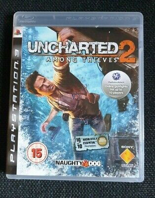 Uncharted  2   Among  Thieves        Ps3  Game
