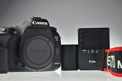Canon EOS 7D Mark II 20.2MP Digital Camera Body Shutter Count 6948 Excellent