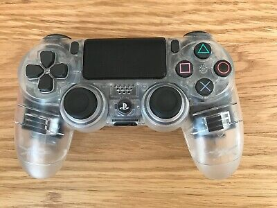 Official Sony PS4 PlayStation 4 DualShock Custom V2 Controller - Clear (2)