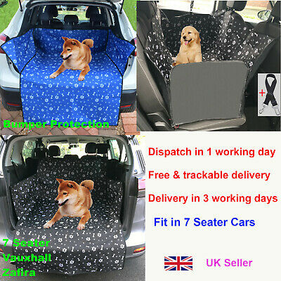 Waterproof Pet Dog Car Rear Back Seat Boot Cover Protector Liner Hammock for Dog