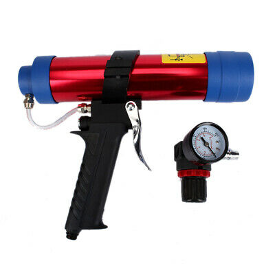 Pneumatic Caulking Gun Glass Glue Gun Air Rubber Gun Caulk Applicator Tools