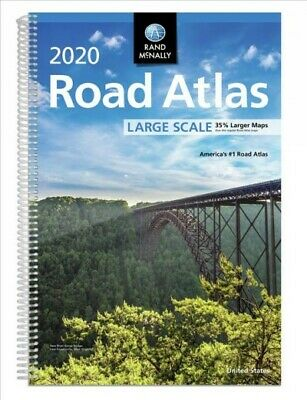 Rand McNally 2020 Large Scale Road Atlas, Paperback by Rand McNally (COR), IS...