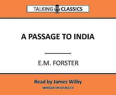 A Passage to India (Talking Classics) by Forster, E. M., NEW Book, FREE & Fast D