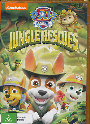 Nickelodeon Paw Patrol Jungle Rescues DVD NEW Region 4