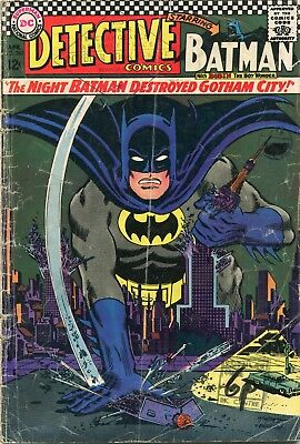 Detective Comics # 362 - Batman - Robin - Elongated Man - Riddler
