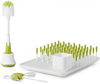 OXO Tot Bottle and Cup Cleaning Set in Green