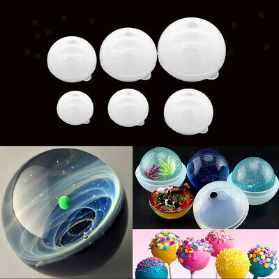Sphere Ball Silicone Mold Mould for Resin Casting Baking Accessory 30/40mm