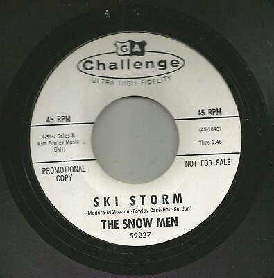 Rockabilly Surf Instro- Snow Men - Ski Storm - Hear- 1964 Dj Challenge