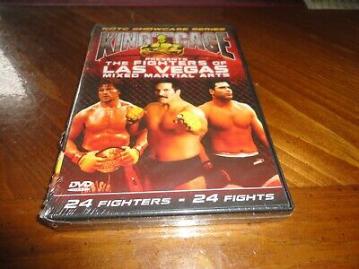 KING of the CAGE The Fighters of Las Vegas DVD - MMA KOTC Wrestling - 2 Disc Set