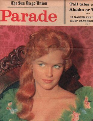 Lee Remick Clipping Magazine 8x10 1pg photo orig F17317