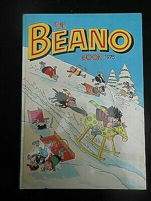 ** THE BEANO BOOK 1975 ** Annual Excellent Condition & Unclipped FREE UK P&P