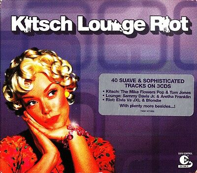 Kitsch Lounge Riot -The Best Of Easy Listening/Dinner Party-3 CD (Eva Cassidy)