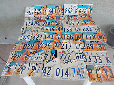 150+ License Plate Cut Letters & Numbers for Crafts or?