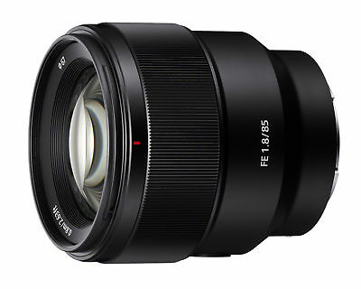 Sony SEL 85-85mm f/1.8 FE Lens with hood & Polarizing Filter