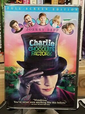 Charlie & The Chocolate Factory   *new/sealed  [Dvd]