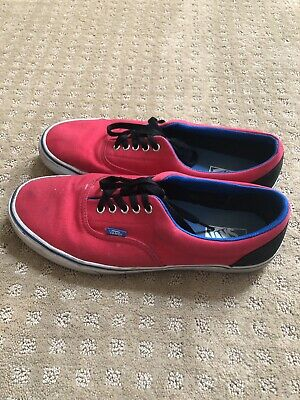 c39c077853b3 MEN S MOSSIMO COMFORT Casual Canvas Shoes Navy Blue White Red Size ...
