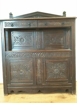 Rare Old Furniture Labeled Heweston, Milner And Thexton House Furnisher