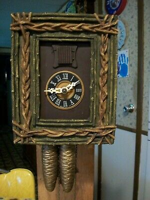 Vintage Rare  Unusual  Cuckoo Clock         Germany