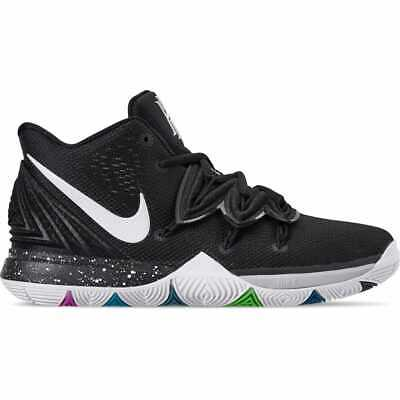 77f8b351a5b Boys  Big Kids  Nike Kyrie 5 Basketball Shoes Multi-Color White AQ2456
