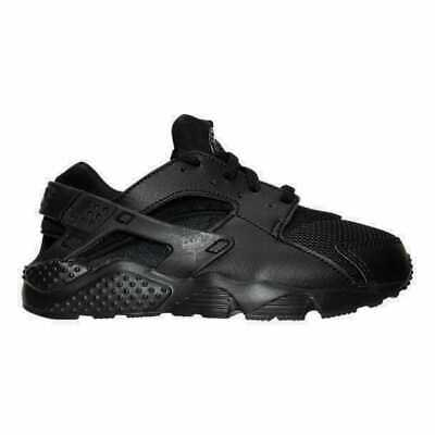 sale retailer 0637d 60ec5 Boys' Preschool Nike Huarache Run Running Shoes Black/Black/Black 704949 016