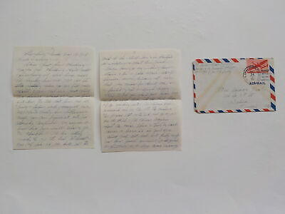 Chinese Civil War Letter 1946 Nanking Hotel High Command 1st Floor Press China