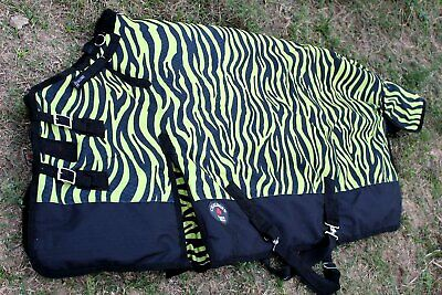 Equestrian Horse Wear 1200D Turnout Waterproof Horse Tough WINTER BLANKET HEAVY 5G