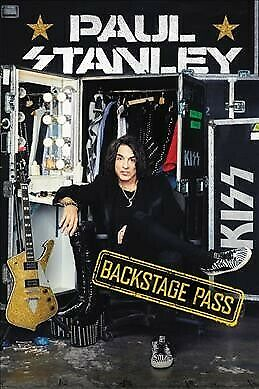 Backstage Pass, Hardcover by Stanley, Paul, ISBN-13 9780062820280 Free shippi...