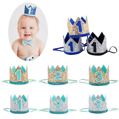 Princess Party Headdress Floral Headwear Baby Birthday Hat Crown Hair Band