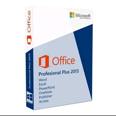 Microsoft Office 2013 Professional Plus -Download&Key 32/64 Bit invio istantaneo