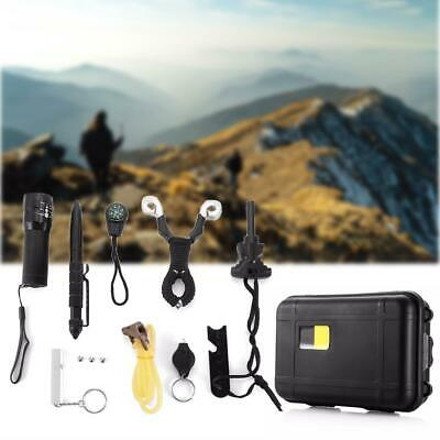Outdoor SOS Emergency Survival Equipment Kit Tactical Hiking Camping Gear Tool
