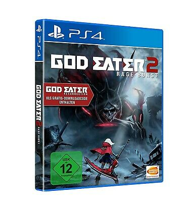 Sony Playstation Vita game - God Eater 2: Rage Burst boxed