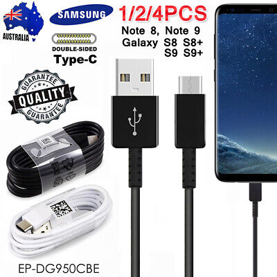 GENUINE Samsung Galaxy S9+ S8+ S9 S8 Type C USB Sync Charger Charging Fast Cable