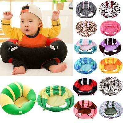Kids Baby Support Seat Sit Up Feeding Chair Cushion Sofa Plush Pillow 22 Style