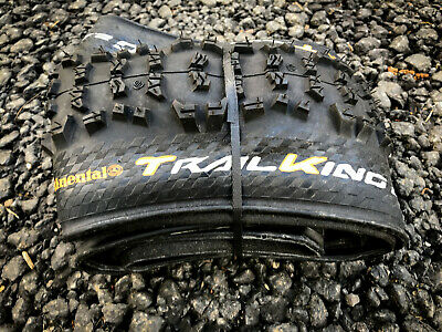 "Continental Trail King MTB Tyres 27.5"" x 2.4 Folding Tubeless Ready Foldable"