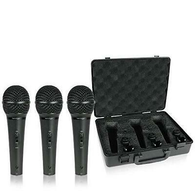 Behringer XM1800S Ultravoice Dynamic Microphone Pack Of 3 Color May Slightly