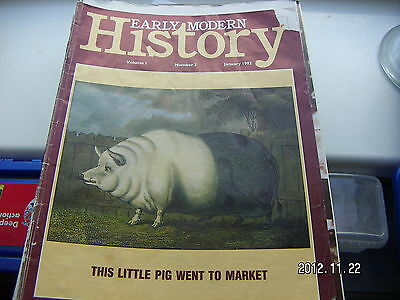History Review January 1992  Issue