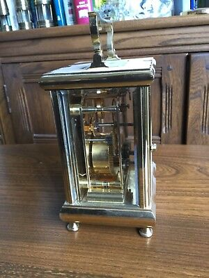 Kingsley Enamel Quality Swiss Movement Case Le 21/50 Carriage Clock 8-Day Ssmith