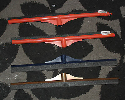 Floor Squeegee Wiper Heads x 4