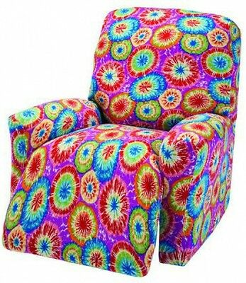 """JERSEY RECLINER COVER----LAZY BOY-----COBALT-----/""""STRETCHES/"""" -/""""WASHABLE/"""""""