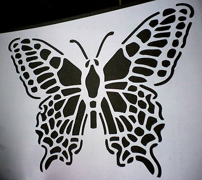 high detail airbrush stencil butterfly2 FREE UK POSTAGE