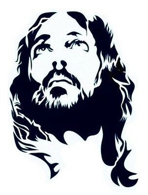 high detail airbrush stencil jesus 5 FREE UK POSTAGE