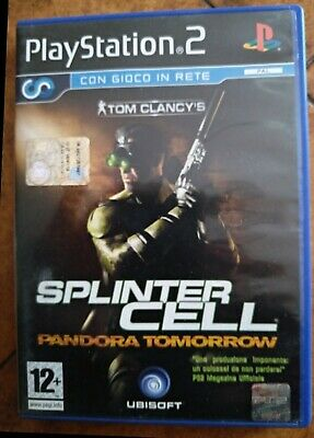 Splinter Cell pandora tomorrow Pal Ita Usato Con manuale