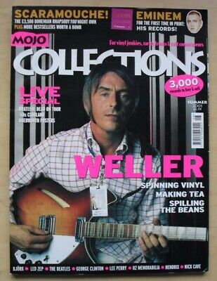 Paul Weller Mojo Colections 3 Magazine Summer 2001 Paul Weller Cover And Feature