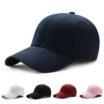 e1c7ea6ee Men Women New Black Baseball Cap Snapback Hat Hip-Hop Adjustable Bboy Caps