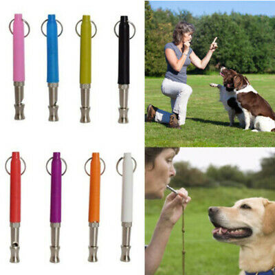 Dog Flute Puppy Clicker Whistle Obedience Pet Training Cat Trainer Teaching tool