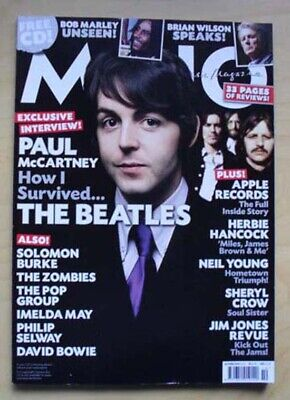 Beatles Mojo #203 Magazine Oct 2010 Beatles Cover With More Inside Uk