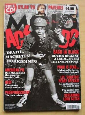 Ac/Dc Mojo #199 Magazine June 2010 Ac/Dc Cover With More Inside Uk
