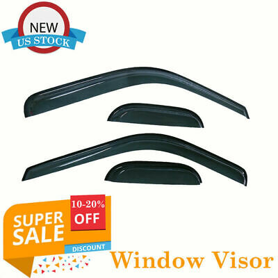 For 1999 2016 Ford F350 Supercab Extended Cab Window Viosr Rain Guard Weather