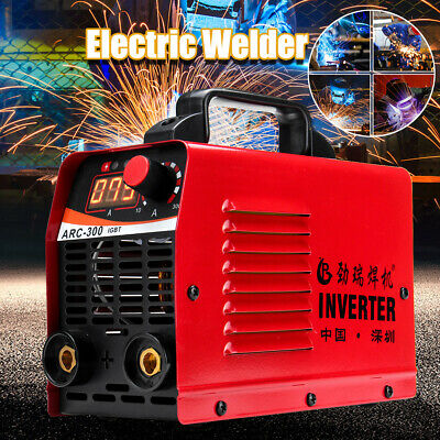 10A-300AMP LCD Welding Inverter Machine MMA ARC 300 Houshold Welder IGBT 230V