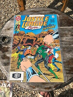 DC JUSTICE LEAGUE EUROPE #41 1992 Used - Near Mint